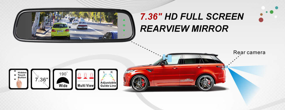 China best Rearview Car Camera System on sales