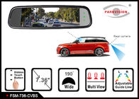 China 1280 * 400 Resolution Reversing Mirror Monitor , Rear View Mirror Video Monitor company