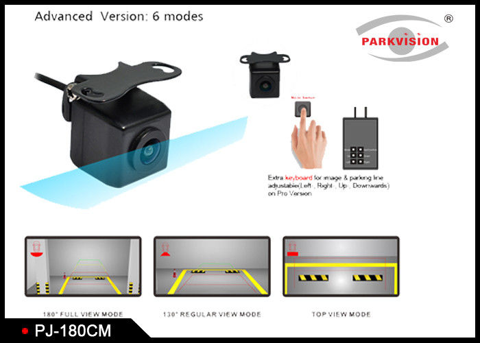 3G1P Lens Multi View Camera DC 12V Support 4 - Way Video Recording And Playback