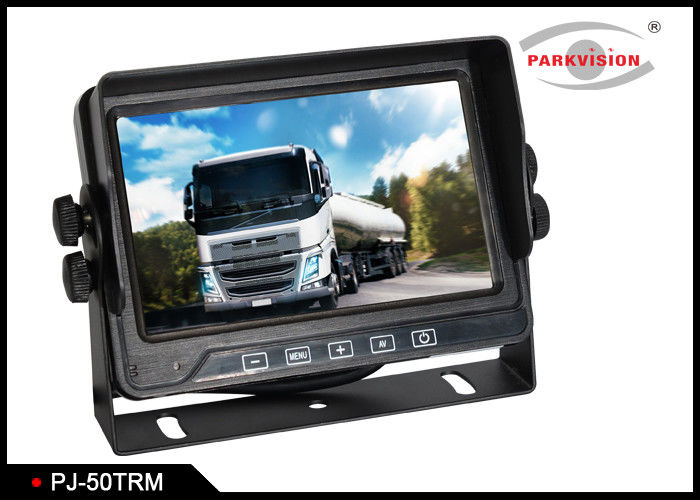 5 Inch Screen Cvbs Signal Bus Monitoring System With 3 Video Inputs Cameras