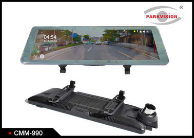 Super HD 1080P DVR Rear view Mirror Monitor / Dual Lens Car Black Box Video Recorder
