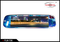 7 Inch Screen Full HD 12V 16:9 Lcd Display Reversing Car Rearview Mirror Monitor 3-way Video Input for Parking