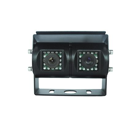 Dual Lens Auto Rear View Camera , Security Backup Camera System For Trucks