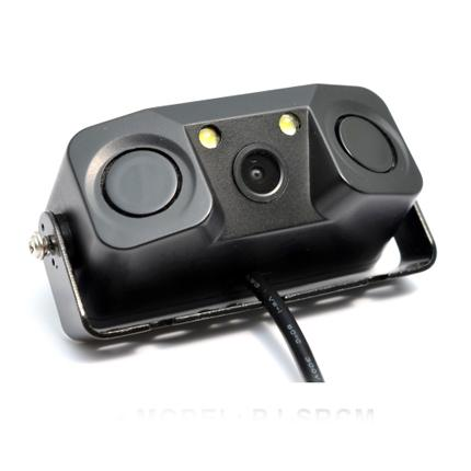 High Resolution Car Rear View Camera With Three In One Led Light Sensor