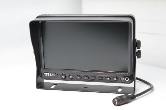 Digital 7 Inch Backup Camera Monitor With RCA / 4-Pin Connector Interface