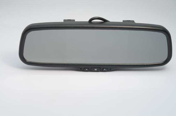 DC 12V Clip - On LCD Panel Smart Rear View Mirror For Car Parking System
