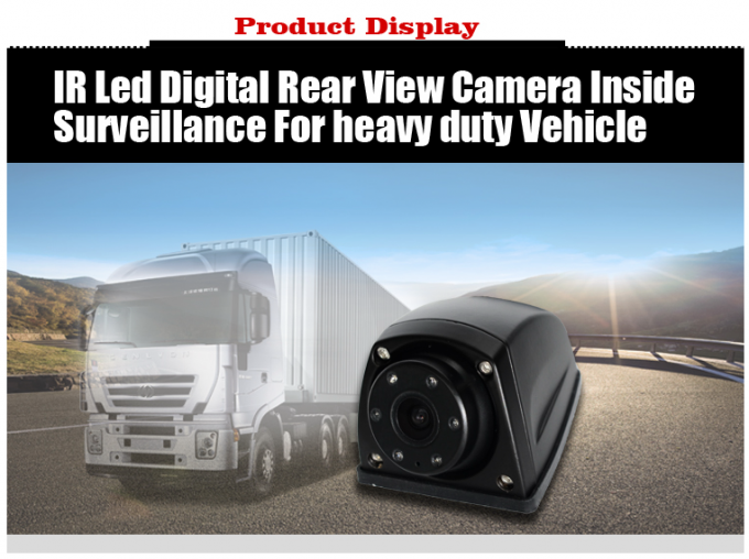 Mini Truck Rear View Camera System , 1/3'' CCD Wireless Remote Backup Camera
